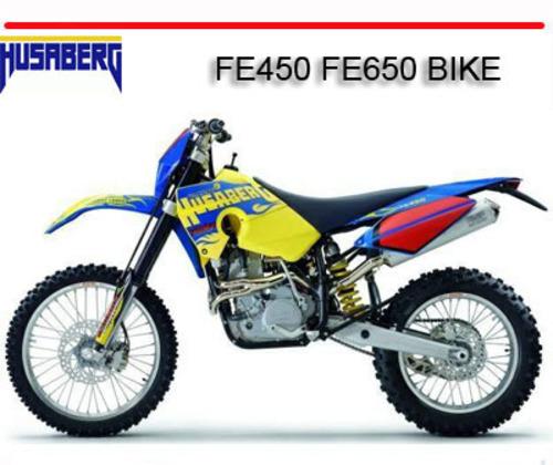 Pay for HUSABERG FE450 FE650 BIKE REPAIR SERVICE MANUAL