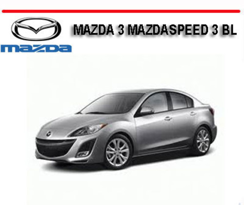 2007 mazda3 mazdaspeed3 workshop repair service manual download