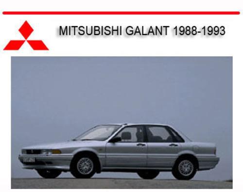 mitsubishi galant vr4 1988 1993 repair service manual download ma rh tradebit com 2003 Mitsubishi Galant Wiring-Diagram Mitsubishi Galant Transmission Standard