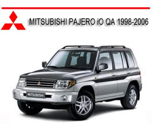 277815813_MITSUBISHI PAJERO iO QA 1998 2006 mitsubishi pajero io qa 1998 2006 repair service manual download pajero wiring diagram pdf at edmiracle.co