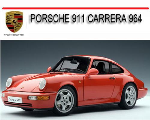porsche 911 carrera 964 repair service manual download. Black Bedroom Furniture Sets. Home Design Ideas