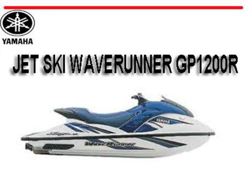 yamaha jet ski waverunner gp1200r workshop repair manual download rh tradebit com yamaha waverunner gp1200r service manual 2001 yamaha waverunner gp1200r manual