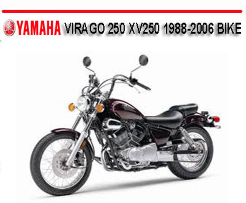 Yamaha Xv1100 Workshop Manual