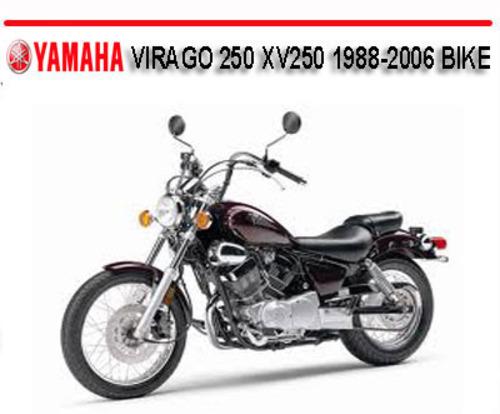 yamaha virago 250 xv250 1988 2006 bike repair manual download man rh tradebit com yamaha virago 250 owners manual download free 2002 yamaha virago 250 owners manual