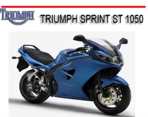 triumph sprint st 1050 2005 2010 bike repair manual download manu rh tradebit com triumph sprint st service manual triumph sprint st 955 manual