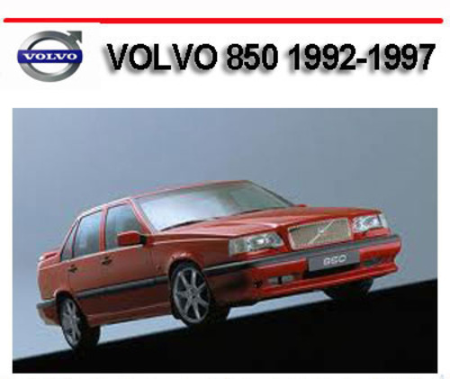 Pay for VOLVO 850 1992-1997 WORKSHOP SERVICE REPAIR MANUAL