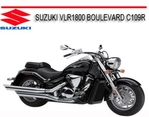 suzuki vlr1800 boulevard c109r 2008 onward bike manual download m rh tradebit com Suzuki DL1000 Suzuki Marauder