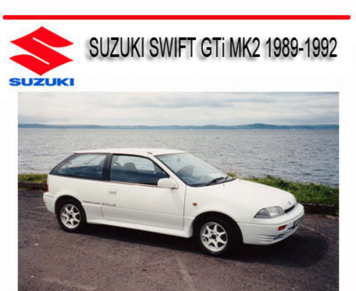 Suzuki Swift Gti Mk2 1989-1992 Service Repair Manual