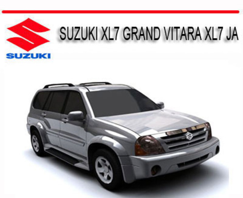 suzuki grand vitara owners manual pdf