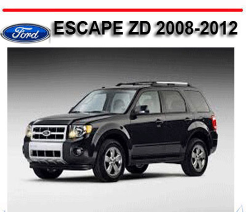 owners manual    ford escape  ford escape