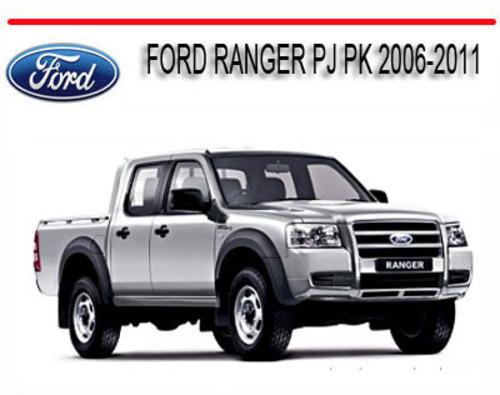 ford ranger pj pk 2006 2011 workshop service repair manual downlo rh tradebit com ford ranger 2006 service manual ford ranger 2006 manual usuario