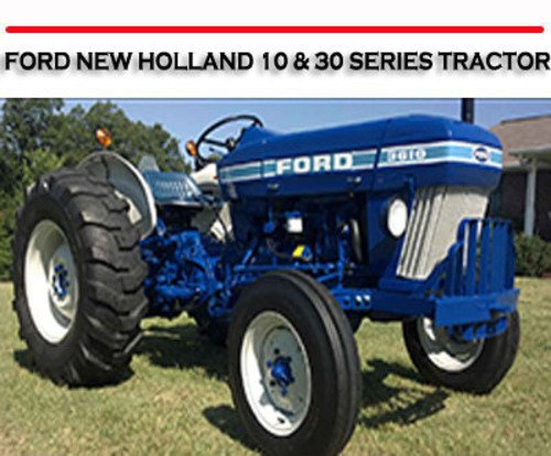 Ford New Holland Series Tractor Workshop Service Repair Manual