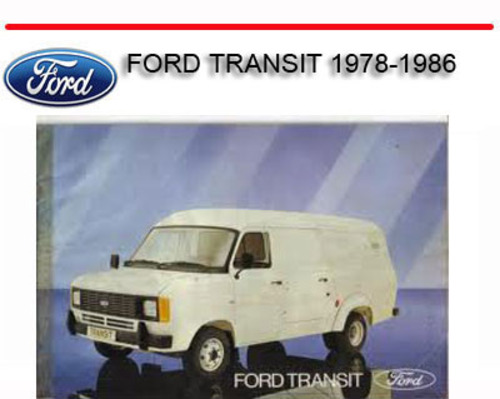 ford manual  repair manual