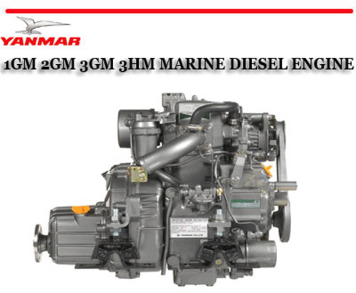 Yanmar 1gm 2gm 3gm 3hm Marine Diesel Engine Repair Manual Tradebit
