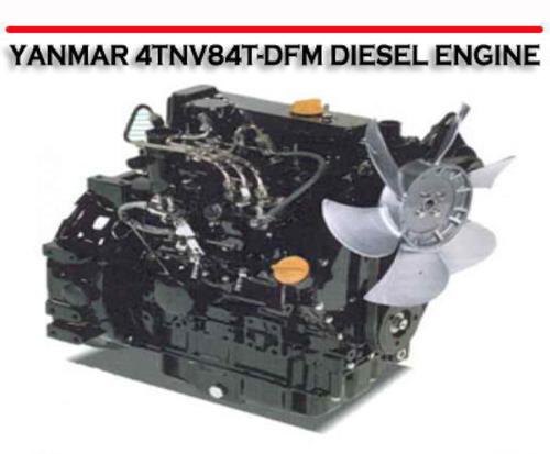 Engine Fan Yanmar Part 12991644740 : Yanmar tnv t dfm diesel engine technical service manual