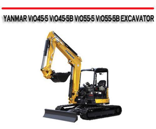 Yanmar vio45-5 vio45-5b vio55-5 vio55-5b excavator manual downloa.