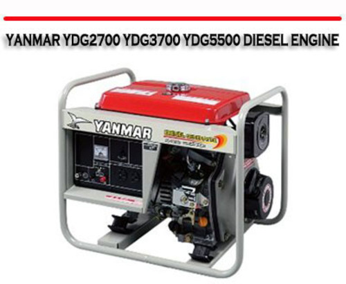 yanmar ydg2700 ydg3700 ydg5500 diesel engine repair manual. Black Bedroom Furniture Sets. Home Design Ideas