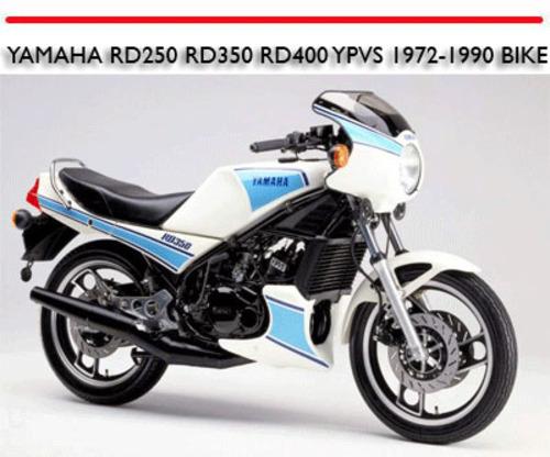 Yamaha Rd250 Rd350 Rd400 Ypvs 1972