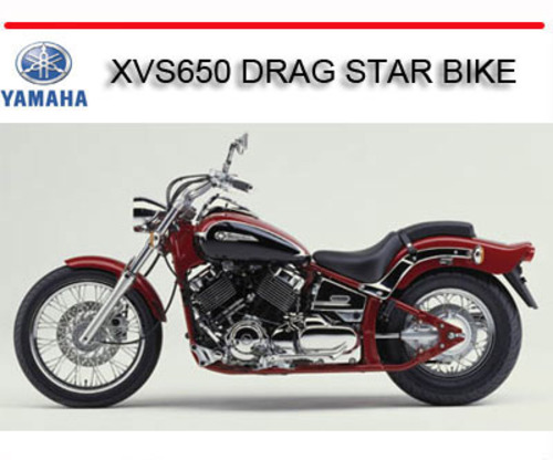 yamaha xvs650 drag star bike repair service manual download manua rh tradebit com yamaha 650 superjet repair manual yamaha dragstar 650 repair manual