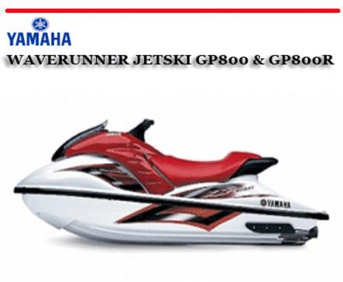 yamaha waverunner gp800 workshop repair manual download