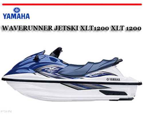 yamaha waverunner jetski xlt1200 xlt 1200 workshop manual downloa rh tradebit com 1993 yamaha jet ski manual 1993 yamaha jet ski manual