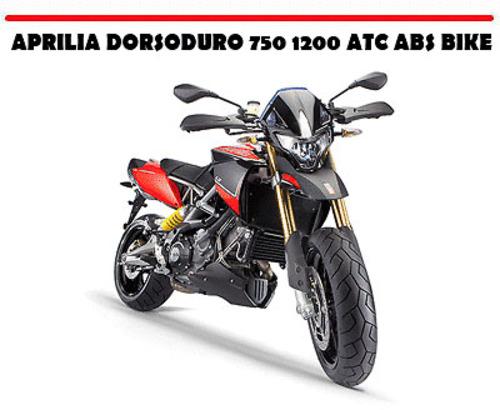 aprilia dorsoduro 750 1200 atc abs bike workshop manual