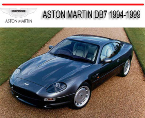 aston martin db7 1994 1999 repair service manual download manuals rh tradebit com aston martin db7 service manual aston martin db7 service manual pdf