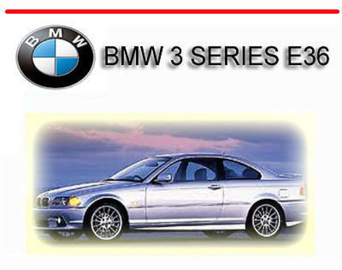 bmw 3 series e36 1992 1998 repair service manual. Black Bedroom Furniture Sets. Home Design Ideas