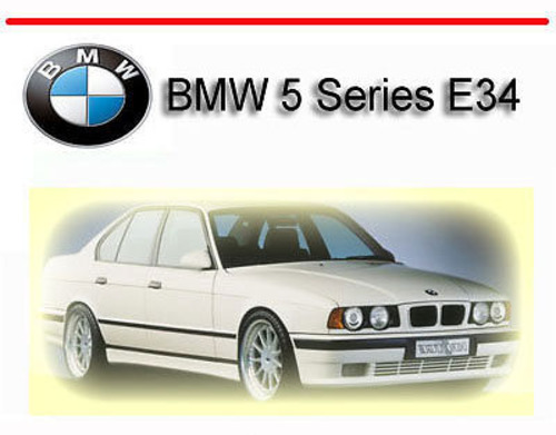 Pay for BMW 5 Series E34 1989-1995 SERVICE REPAIR MANUAL