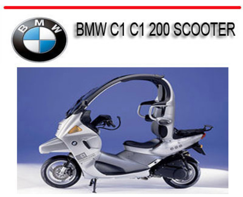 Pay For BMW C1 200 Scooter Repair Service Manual: BMW C1 Scooter Wiring Schematic At Mazhai.net