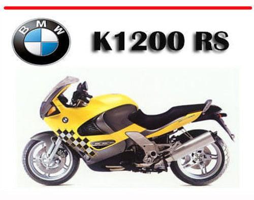 BMW K1200RS K 1200 RS SERVICE REPAIR MANUAL