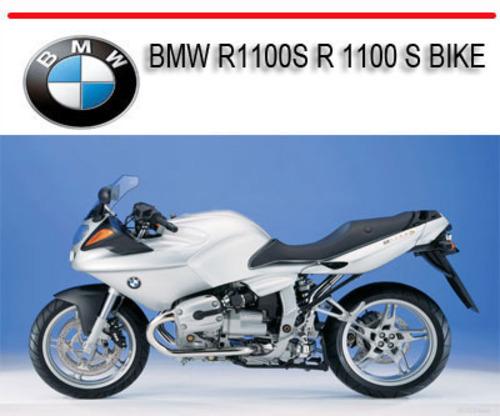 bmw r1100s service repair manual free programs
