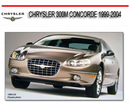 service manual 1998 chrysler concorde cool start manual. Black Bedroom Furniture Sets. Home Design Ideas