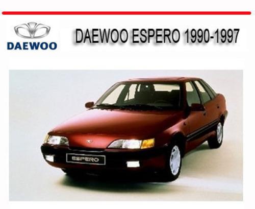 daewoo espero 1990 1997 workshop repair manual download. Black Bedroom Furniture Sets. Home Design Ideas