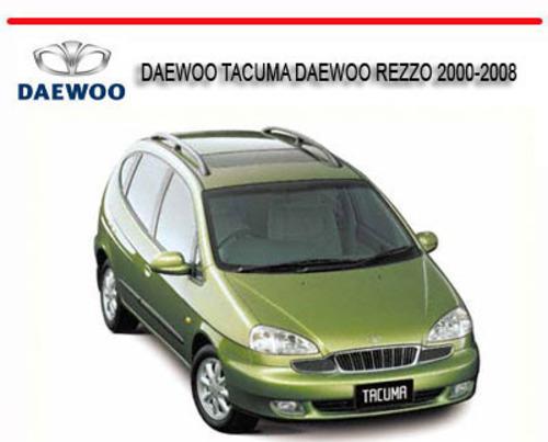 free daewoo tacuma daewoo rezzo 2000