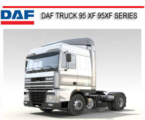 Pay for DAF TRUCK 95 XF 95XF SERIES REPAIR SERVICE MANUAL