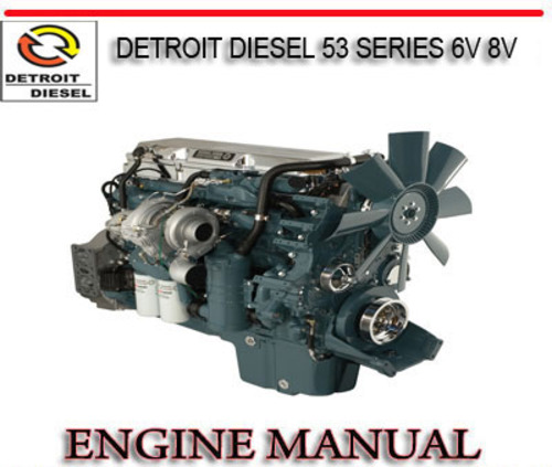 detroit diesel 53 series 6v 8v engine repair service manual downl