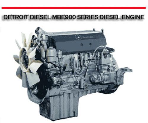 Detroit Diesel Mbe900 Series Diesel Engine Repair Manual