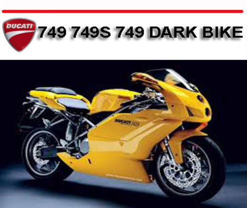 ducati 749 749s 749 dark bike workshop service repair manual down rh tradebit com ducati 749 manual free download Ducati 748