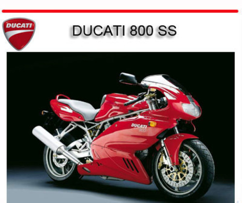 ducati 800 ss bike workshop repair service manual. Black Bedroom Furniture Sets. Home Design Ideas