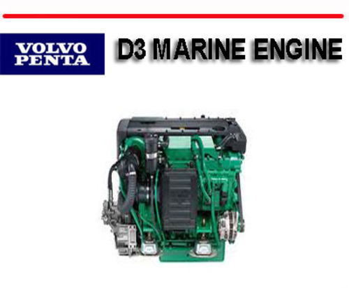 volvo penta d3 marine engine service repair manual download manua rh tradebit com volvo penta d30 manual Volvo Penta Logo