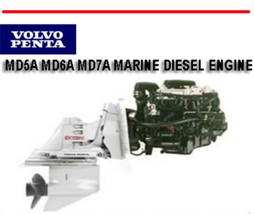volvo penta md5a md6a md7a marine diesel engine manual download m rh tradebit com Ford Workshop Manuals Store Workshop Manual