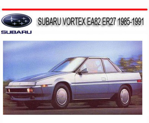 subaru vortex ea82 er27 1985