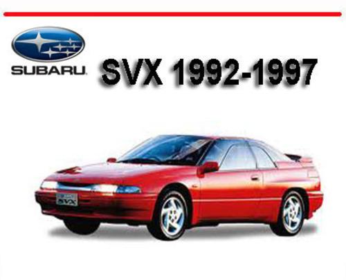 Subaru Svx 1992-1997 Workshop Service Repair Manual