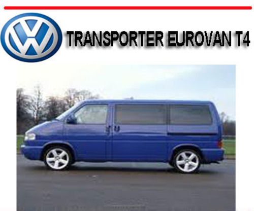 VOLKSWAGEN VW TRANSPORTER EUROVAN T4 2.5L WORKSHOP SERVICE REPAIR MANUAL
