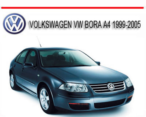 Pay for VOLKSWAGEN VW BORA A4 1999-2005 REPAIR SERVICE MANUAL