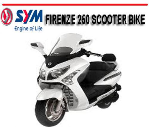 sym firenze 250 scooter bike workshop repair service manual downl rh tradebit com Electric Scooter Manuals Gas Scooter Manual