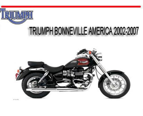 triumph bonneville america 2002 2007 bike repair manual download rh tradebit com 2002 Triumph Bonneville America Specs 2002 triumph bonneville america owner's manual