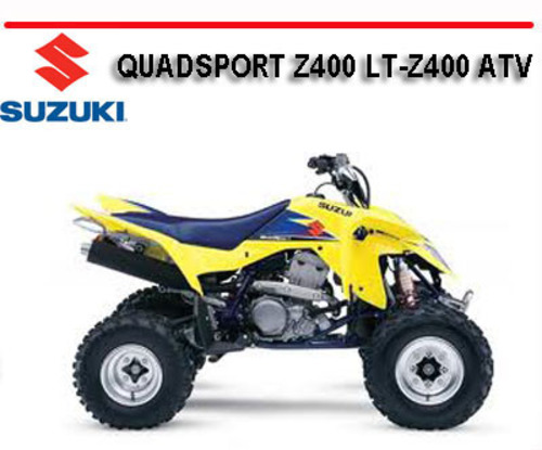 Suzuki Quadsport Z400 Lt-z400 Atv 1999-2005 Repair Manual