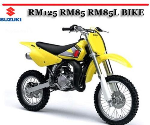 Suzuki Rm125 Rm85 Rm85l Bike Workshop Repair Service